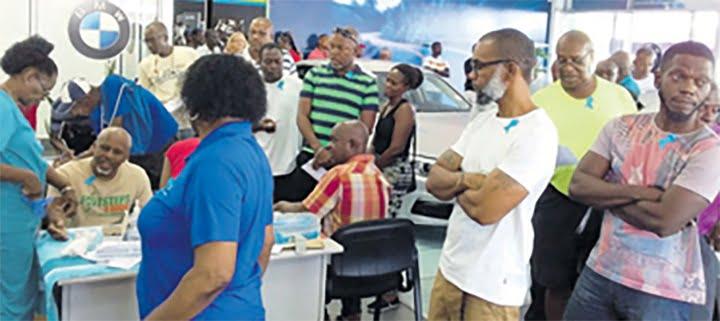 Nation Fantastic Turnout for PSA Screening